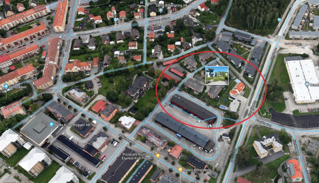 "Benny A på Colorit media bidrar med ""blå linjer"" till Google Maps / Google Street View Blue Line Google Street View Blue Line"
